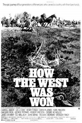 How the West Was Won movie poster (1962) poster MOV_365ac9e1