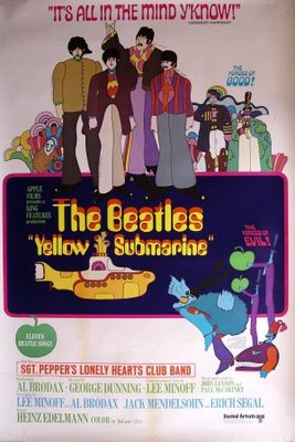 Yellow Submarine movie poster (1968) poster MOV_365c7cc2