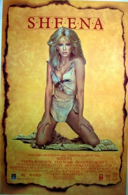 Sheena movie poster (1984) poster MOV_367045d1