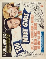 Too Many Girls movie poster (1940) picture MOV_367e92e5