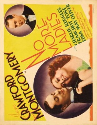 No More Ladies movie poster (1935) poster MOV_368f6e4e