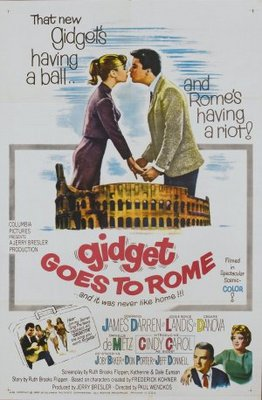 Gidget Goes to Rome movie poster (1963) poster MOV_36a619f2