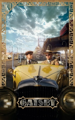 The Great Gatsby movie poster (2012) poster MOV_36b12826