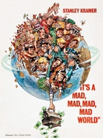 It's a Mad Mad Mad Mad World movie poster (1963) picture MOV_36bf5c80