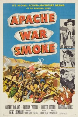 Apache War Smoke movie poster (1952) poster MOV_36c09624