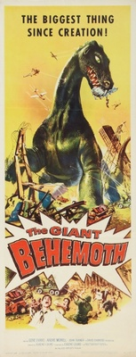 Behemoth, the Sea Monster movie poster (1959) poster MOV_36d67ed3