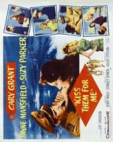 Kiss Them for Me movie poster (1957) picture MOV_36d9ee0f