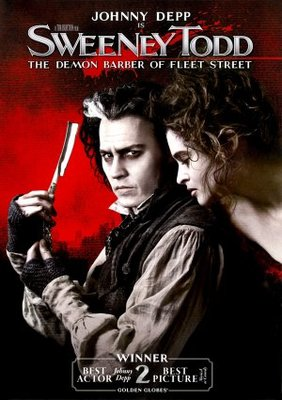 Sweeney Todd: The Demon Barber of Fleet Street movie poster (2007) poster MOV_36fa4bb0