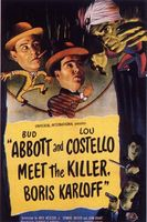 Abbott and Costello Meet the Killer, Boris Karloff movie poster (1949) picture MOV_36fa7f34
