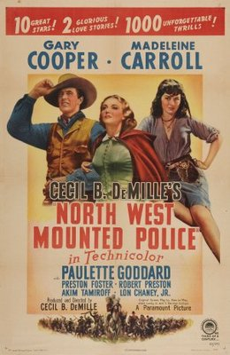 North West Mounted Police movie poster (1940) poster MOV_36fc712d