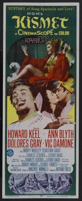 Kismet movie poster (1955) poster MOV_3714c25f