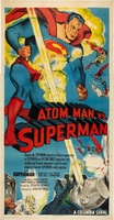 Atom Man Vs. Superman movie poster (1950) picture MOV_371f1959