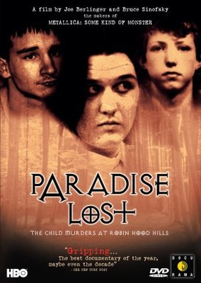 Paradise Lost: The Child Murders at Robin Hood Hills movie poster (1996) poster MOV_37266246