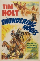Thundering Hoofs movie poster (1942) picture MOV_3736fe8d