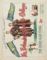 Mr. Belvedere Goes to College movie poster (1949) picture MOV_3737351a