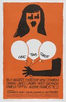 One, Two, Three movie poster (1961) picture MOV_37414c4c
