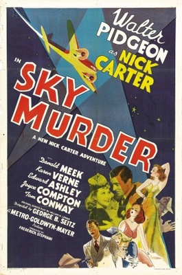 Sky Murder movie poster (1940) poster MOV_375f90ae