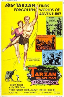 Tarzan, the Ape Man movie poster (1959) poster MOV_3767d95d