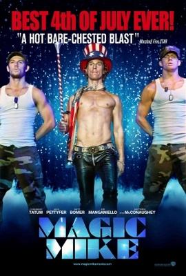 Magic Mike movie poster (2012) poster MOV_37680574