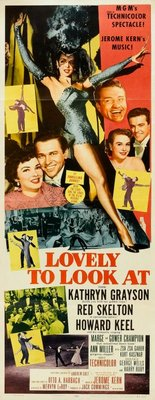 Lovely to Look at movie poster (1952) poster MOV_376b6f0c