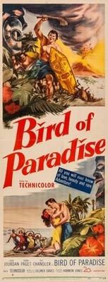 Bird of Paradise movie poster (1951) poster MOV_37762d92