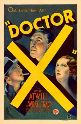 Doctor X movie poster (1932) poster MOV_3782bf9b