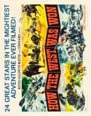 How the West Was Won movie poster (1962) poster MOV_37897d00
