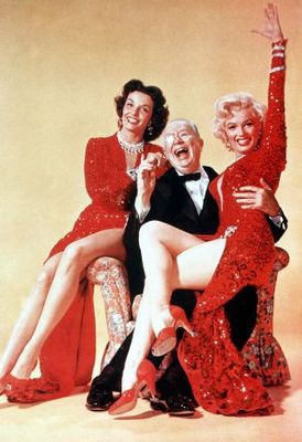 Gentlemen Prefer Blondes movie poster (1953) poster MOV_378ab06d