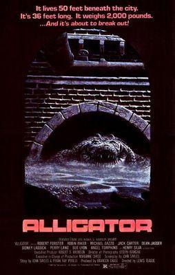 Alligator movie poster (1980) poster MOV_37aefbb6