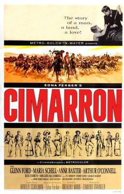 Cimarron movie poster (1960) poster MOV_37b2c668