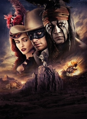 The Lone Ranger movie poster (2013) poster MOV_37b5a7e8
