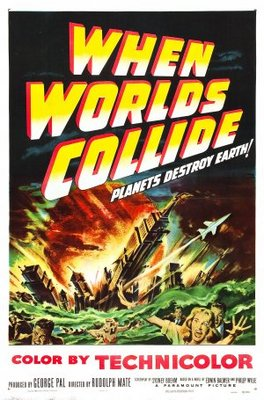 When Worlds Collide movie poster (1951) poster MOV_37b9ad57