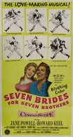 Seven Brides for Seven Brothers movie poster (1954) picture MOV_37c9691a