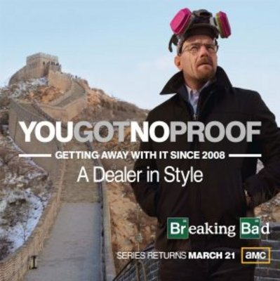 Breaking Bad movie poster (2008) poster MOV_38012e32