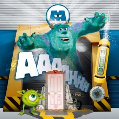 Monsters Inc movie poster (2001) poster MOV_38062a69