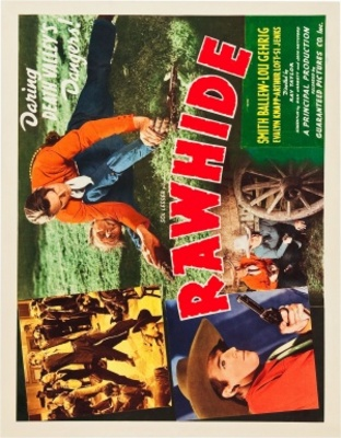 Rawhide movie poster (1938) poster MOV_380dabfe