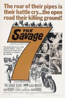 The Savage Seven movie poster (1968) picture MOV_382b0149