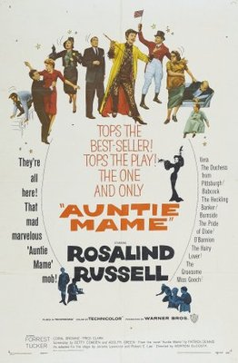 Auntie Mame movie poster (1958) poster MOV_382ca960