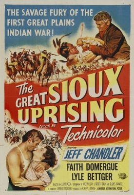 The Great Sioux Uprising movie poster (1953) poster MOV_3836427f