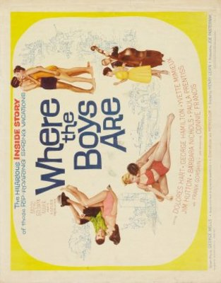 Where the Boys Are movie poster (1960) poster MOV_383e7d7c
