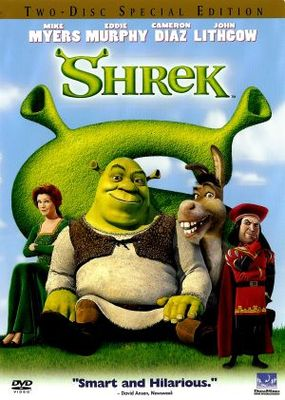 Shrek movie poster (2001) poster MOV_386610c1