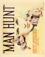 Man Hunt movie poster (1936) picture MOV_386a44cc