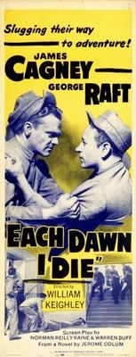 Each Dawn I Die movie poster (1939) poster MOV_386aca5a