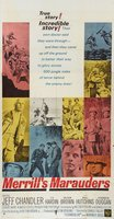 Merrill's Marauders movie poster (1962) picture MOV_3880e0a7