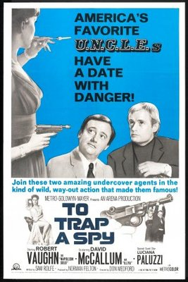 To Trap a Spy movie poster (1964) poster MOV_388b8ae8