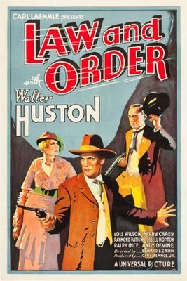 Law and Order movie poster (1932) poster MOV_38b42db8