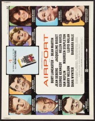 Airport movie poster (1970) poster MOV_38b7340b