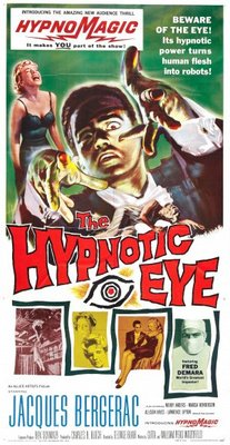 The Hypnotic Eye movie poster (1960) poster MOV_38dca296