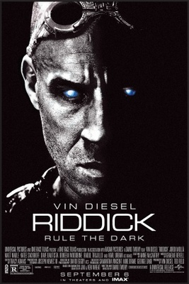 Riddick movie poster (2013) poster MOV_38dd72be