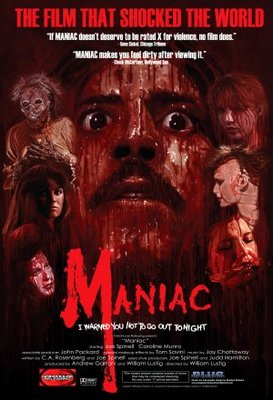 Maniac movie poster (1980) poster MOV_38f79a01